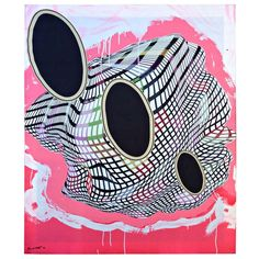 Frank Stella, Geometric Abstraction Scarf, 2000, Abstract