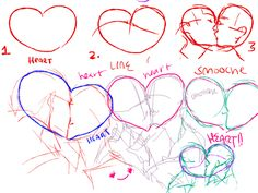 ectobiolodaddy:  i think ppl should draw smooches more because basically if you can draw a heart you...