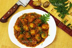 AYESHA'S KITCHEN: SPICY INDIAN CURRY WITH BABY POTATOES - BABY POTAT...