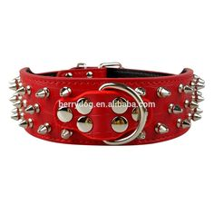 Pet Accessories Studded Dog Collar Large Dog Stud Collars