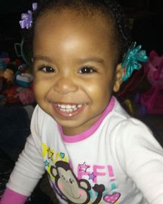 All the adorableness in the world in one Little girl..Grandbaby Inell xoxoxo