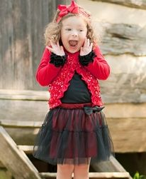 Ruffle Butts - Ruffle Butts Red Sparkle Button Front Cardigan - Trendy and Stylish Haute Baby Designer Baby Clothes. Fashion Kids, Ladies Fashion, Toddler Dance, Infant Toddler, Toddler Girls, Black Tutu Skirt, Baby Girl Tutu, Designer Baby Clothes, Ideias Fashion