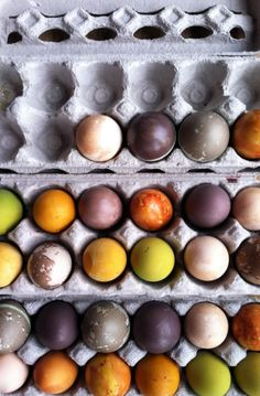 We don't do easter but dyeing eggs for spring celebrations is great! And I love the colorants! DIY Easter Egg Coloring with Natural Dyes