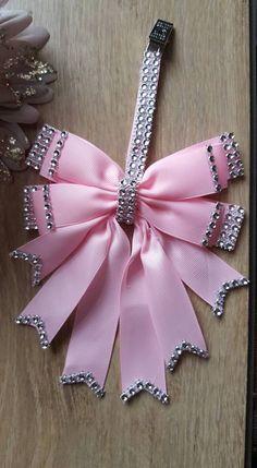 stunning item for any little princess. Bridal Glasses, Pink Prams, Pram Charms, Dot Shop, Ribbon Bows, Ribbons, Dummy Clips, Diy Hair Bows, Girly Things