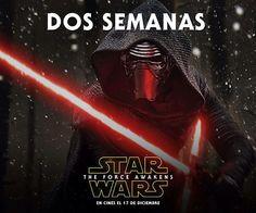 Solamente 2 semanitas!!! #starwars #theforceawakens  #kiloren