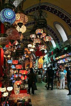 Grand Bazaar in Istanbul, Turkey Oh The Places You'll Go, Places To Travel, Places To Visit, Grand Bazar, Grand Bazaar Istanbul, Turkey Travel, I Want To Travel, Silk Road, Istanbul Turkey