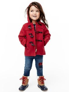Girly Downton Duffle Coat by Shino of Nutta | For the Lil Ones ...
