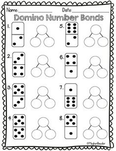 Domino Number Bond Math Activity- Engage New York
