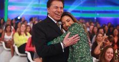 Patricia Abravanel mostra foto de Silvio Santos com seu netinho