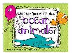 What Can You Write About Ocean Animals? $