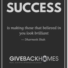 I love this quote! Everyday, I strive to make my family proud! If you don't know about @givebackhomes ,check them out! Giving is essential. You can do so through financial contribution or partnering to help build a home for a family in need! We are all so lucky to have a roof over our heads. Everyone deserves a safe place to call home. #lucky #home #success #proud #realestate #losangeles