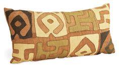 kuba pillows   Kuba Cloth Pillows