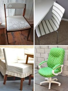 How About Orange DIY Chair Makeover Tutorials