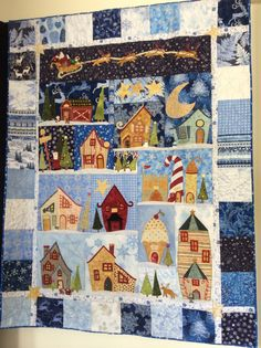 Welcome To The North Pole. A fun quilt to make.