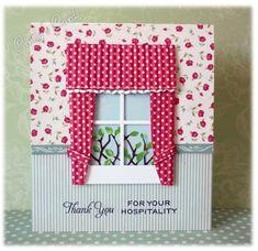 Cottage Window by frenziedstamper - Cards and Paper Crafts at Splitcoaststampers