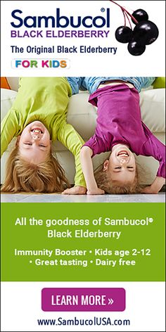 Natural immunity booster, Sambucol Black Elderberry formula, helps kids prepare for cold & flu season! #ad