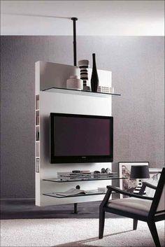 Современные минималистские ТВ стенды
