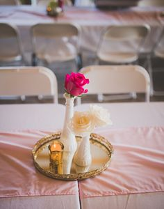 Budget Friendly Country Chic Centerpieces
