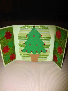 Tarjeta navideña. Elaborada por Yenory Rodríguez.