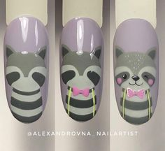 """Get fantastic tips on """"nail paint ideas easy"""". They are accessible for you on our website. Shellac Nail Art, Best Acrylic Nails, Nail Manicure, Diy Nails, Swag Nails, Easter Nail Designs, Diy Nail Designs, Nail Art Dessin, Cartoon Nail Designs"""