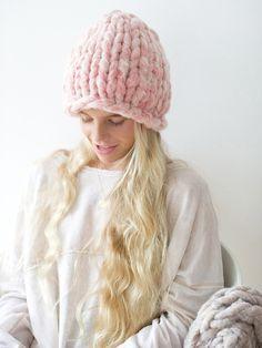 Tutoriel DIY: Tricoter un bonnet à grosses mailles en moins d'une heure sur DaWanda.com !