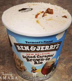 Ice Cream Flavors List, Blueberry Ice Cream, Baby Hamster, Caramel Brown, Ben And Jerrys Ice Cream, Candies, Ale, Frozen, Desserts