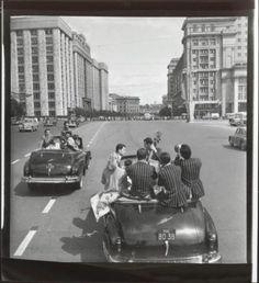 VI Всемирный фестиваль молодежи и студентов в Москве  Михаил Трахман, Москва, 1957 г., МАММ