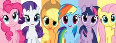 My Little Pony Facebook cover by aliceebryant