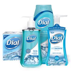 and crisp, Dial® All Day Freshness Spring Water delivers a clean as invigorating as a dip in a natural spring. With Dial's long-lasting deodorant protection, you'll enjoy that clean, refreshed feeling all day. Learn more at Dial Soap, Spring Water, State Of Florida, Shower Gel, Deodorant, Healthy Skin, Personal Care, Cleaning, Crisp