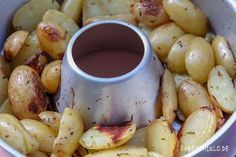 Rosmarinkartoffeln aus dem Omnia-Backofen!