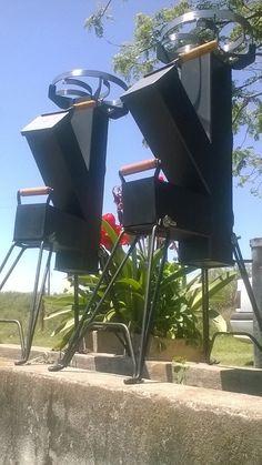 Cocina Cohete/rocket Stove-para Disco Arado- Chapa Bifera - $ 2.300,00 Rocket Heater, Rocket Stoves, Mailbox, Outdoor Decor, Bar Ideas, Home Decor, Kitchen, Outside Wood Stove, Iron