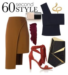 """Simple"" by luisa-katerina ❤ liked on Polyvore featuring Cushnie Et Ochs, Rosetta Getty, Chloé, Rafe, Madina Visconti di Modrone, asymmetricskirts and 60secondstyle"