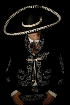 Clothing worn by Mexican ballad singer-mariachi