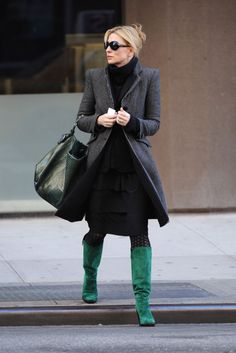 Cate's casual style
