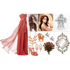 """""""Aphrodite (Goddess of Love and Beauty)"""" by lilacmayn on Polyvore"""