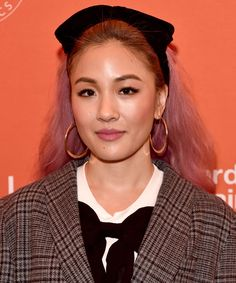Constance Wu is never afraid of playing with her hairstyle and color — but it's never for an on-screen role. Constance Wu, Beautiful Gorgeous, Beautiful People, Strawberry Brown Hair, Top Film, Prettiest Actresses, Star Wars, Korean Beauty Girls, Hair Transformation