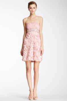 Sue Wong Nocturne Applique Dress by Non Specific on @HauteLook