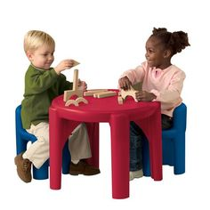Little Tikes Table and Chairs Set  sc 1 st  Pinterest & 84 best Little Tikes Table And Chairs images on Pinterest | Children ...