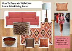 how to decorate with coral - Google Search