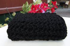 Superfine Alpaca. Snood for women. Coal Black. Alpaga Superfine. Foulard infini pour femmes. zaknit.com