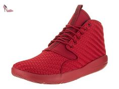 detailed look 119bc 8760f NIKE Jordan Eclipse Chukka hommes Sneaker Rouge 881453 601, Size 44.5   Amazon.fr  Chaussures et Sacs