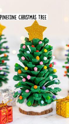 Merry Christmas, Christmas Tree Crafts, Holiday Crafts For Kids, Christmas Activities, Holiday Fun, Christmas Holidays, Christmas Decoration Crafts, Christmas Projects For Kids, Christmas Ideas