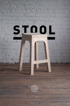 STOOL | Wooden Furniture Design