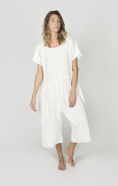 + Oversized fit + 100% washed, pre-shrunk linen + Made in NYC
