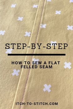 If you love sewing, then chances are you have a few fabric scraps left over. You aren't going to always have the perfect amount of fabric for a project, after all. If you've often wondered what to do with all those loose fabric scraps, we've … Sewing Hacks, Sewing Tutorials, Sewing Crafts, Sewing Tips, Sewing Ideas, Sewing Designs, Tutorial Sewing, 1000 Lifehacks, Flat Felled Seam
