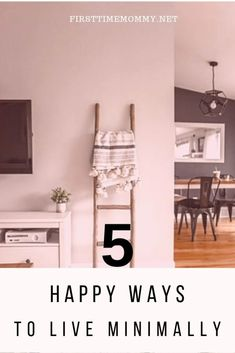 5 Golden Habits for a Minimalist Living - First Time Mommy Declutter Your Home, Organizing Your Home, Minimal Living, Happy Minds, Good Parenting, Floor Space, Homemaking, Storage Spaces, First Time