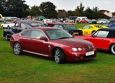 Custom built, Rover 75 Coupe. Only one made.