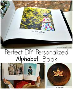The Perfect DIY Personalized Alphabet Book makes the BEST gift and the best family keepsake. Perfect for toddlers, preschoolers, and the whole family to enjoy forever.