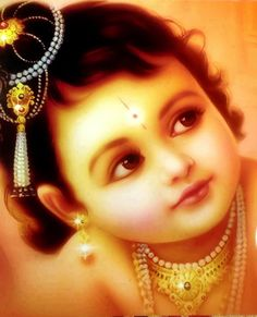 Life is a challenge, meet it! Life is a dream, realize it! Life is a game, play it! Life is Love, enjoy it! Baby Krishna, Little Krishna, Krishna Leela, Cute Krishna, Krishna Radha, Hanuman, Durga, Lord Krishna Images, Radha Krishna Pictures