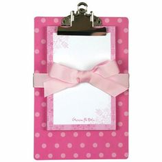 Gamma Phi Beta Clipboard & Note Pad Sets: On Sale Limited Supply